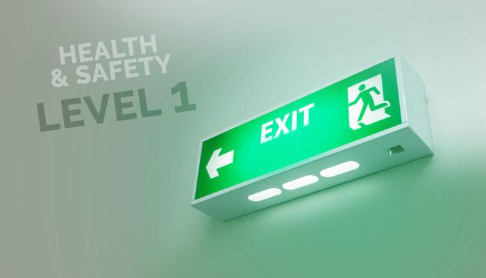 Gesundheit und Sicherheit – Level 1