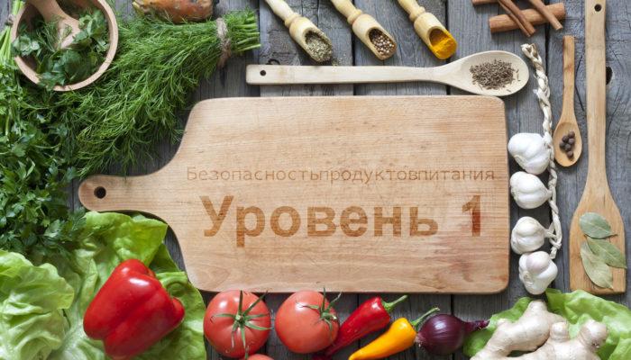 Безопасность продуктов питания – Уровень 1